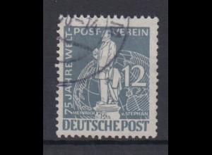 Berlin 35 75 Jahre Weltpostverein (UPU) 12 Pf gestempelt /1