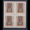 Bund 1045 4er Block Reichstag zu Gelenhausen 60 Pf postfrisch