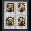 Bund 1036 4er Block Götz v. Berlichingen 60 Pf postfrisch