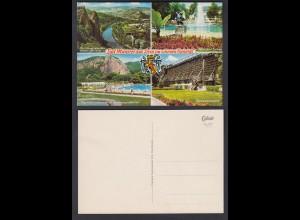 Ansichtskarte Bad Münster am Stein im schönen Nahetal nicht gelaufen