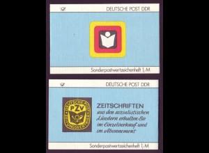 DDR SMHD 35 Zeitschriften mit 10x Mi.Nr. 3156 postfrisch