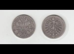 Silbermünze Kaiserreich 1 Mark 1874 E Jäger Nr. 9 /116