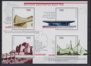 Bund Block 37 Deutsche Architektur nach 1945 4x 100 Pf postfrisch