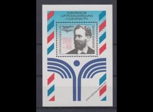 Bund Block 24 Europäische Luftpostausstellung Lilienthal 100+ 50 Pf postfrisch