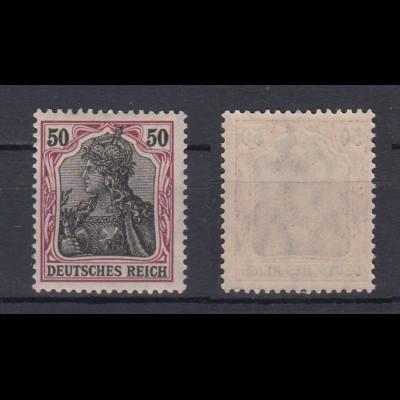 Deutsches Reich 91 Ix Germania Friedensdruck 50 Pf postfrisch /2