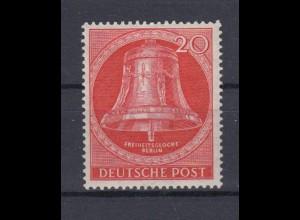 Berlin 103 Freiheitsglocke Schöneberger Rathaus (III) 20 Pf postfrisch