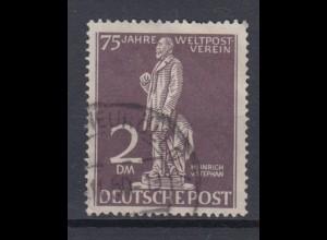 Berlin 41 75 Jahre Weltpostverein (UPU) 2 DM gestempelt /1