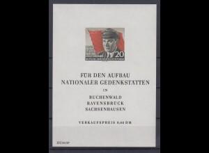 DDR Block 14 70. Geburtstag von Ernst Thälmann 20 Pf postfrisch