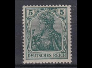 Deutsches Reich 85 IIa Germania 5 Pf postfrisch