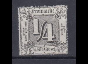 Thurn und Taxis Mi.Nr. 35 Ziffern 1/4 Sgr postfrisch