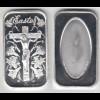 Silberbarren 1 OZ Jesus am Kreuz One Troy mit Platz für eine Gravur /40