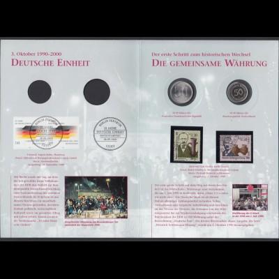 Bund DDR Gedenkausgabe Der Weg zur Deutschen Einheit Die Gemeinsame Währung