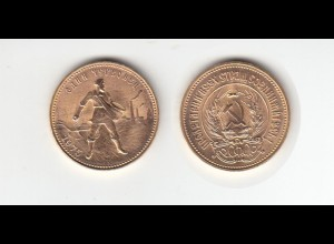 Goldmünze Russland 10 Rubel 1975 Tscherwonez