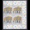 Bund 2028 4er Block Eckrand rechts 1100 Jahre Weimar 100 Pf postfrisch