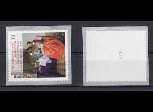 Bund 3280 SB mit Nr. 5 Schätze aus Deutschen Museen 70 C postfrisch