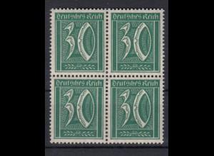 Deutsches Reich 162 4er Block Ziffer 30 Pf postfrisch