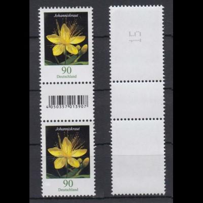 Bund 3304 EAN-Code RM ungerade Nr. 2 st. Zwischenstegpaar Johanniskraut 90 C **
