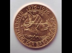Goldmünze Österreich 1000 Schilling Einsetzung der Babenberger 976-1976