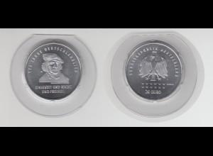 Silbermünze 20 Euro 2016 175 Jahre Deutschland stempelglanz