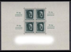 Deutsches Reich Block 9 Kulturförderung 6 Pf postfrisch