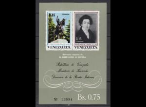 Vignette Venezuela Simon Bolivar Madrid 1799-1802 Ministerium Hacienda