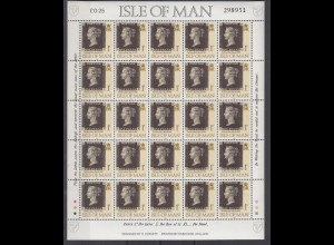 Vignette Isle of Man 25x One Penny 1990