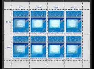 Österreich Kleinbogen Hologramm 1988