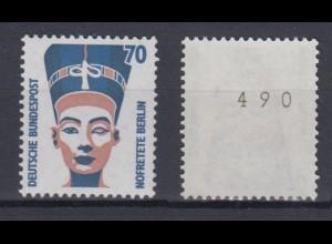 Bund 1374 RM mit gerader Nummer SWK 70 Pf postfrisch