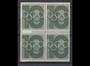 Bund 231 4er Block Olympisches Jahr 10 Pf postfrisch