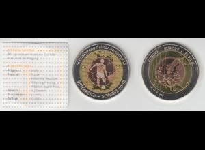 Medaille Triplex Rekordmeister Deutschland Österreich - Schweiz 2008 /M21