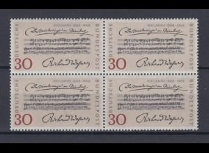 Bund 566 4er Block Jahrestag der Uraufführung 30 Pf postfrisch