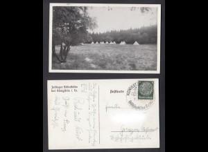 Ansichtskarte Zeltlager Billtalhöhe bei Königstein im Taunus
