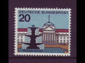 Bund 420 I mit Plattenfehler Wiesbaden Kurhaus Hessen 20 Pf postfrisch