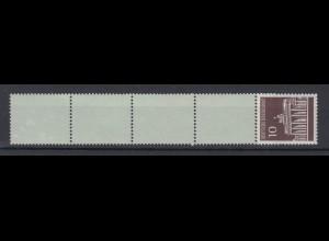 Bund 506 v RE 1 + 4 Brandenburger Tor 10 Pf postfrisch