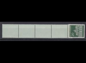 Bund 507 v RE 1 + 4 Brandenburger Tor 20 Pf postfrisch