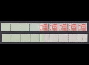 Bund 995 RE 5+4 gelbtürkis Burgen + Schlösser 20 Pf postfrisch neue Fluoreszenz