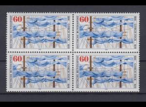 Bund 1058 4er Block Gorch Fock 60 Pf postfrisch