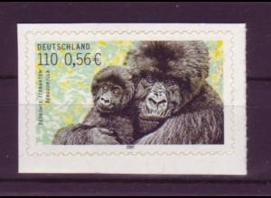 Bund 2204 SELBSTKLEBEND aus MH 44 Bedrohte Tierarten 110 Pf/0,56€ postfrisch