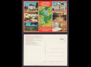 Ansichtskarte Gästehaus Cafe zur Post 5419 Freilingen Westerwald nicht gelaufen