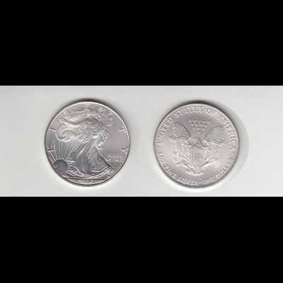 Silbermünze 1 OZ USA Liberty 1 Dollar 2006