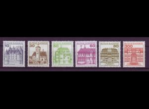 Bund ex 913AII -1143AII Burgen und Schlösser Letterset postfrisch