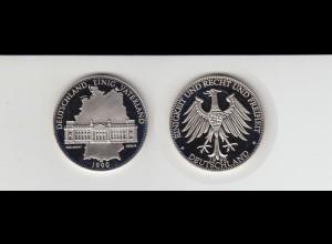 Medaille Deutschland Einig Vaterland 1990 in Kapsel /M29