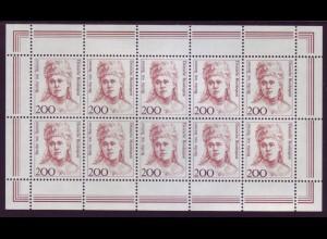 Bund 1498 10er Bogen Frauen Suttner 200 Pf postfrisch