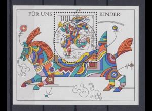 Bund Block 35 Für uns Kinder 100 Pf ESST Limburg an der Lahn 11.04.1996