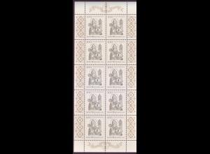 Bund 1762 10er Bogen heiliger Wolfgang 100 Pf postfrisch