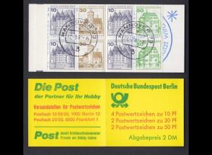 Berlin Markenheftchen 11b Burgen und Schlösser 1980 gestempelt Hannover