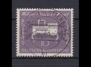 Bund 228 Wolfgang Amadeus Mozart 10 Pf Vollstempel Berlin Charlottenburg