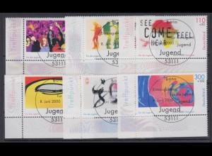 Bund 2117-2122 Eckrand links unten Jugend EXPO 2000 ESST Bonn