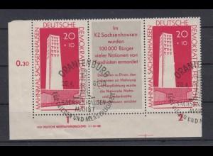DDR 783 b ZD 3er Str. Eckrand links unten Druckvermerk Sachsenhausen ESST