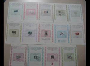 14 Stück BDPH 1980 - 1993 ESST